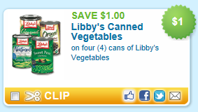 libbys coupon deal *HOT* This goes FAST   Libbys $1/4 coupon = $.35 at Walmart