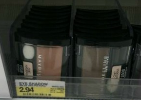maybeline deal Maybelline Eyeshadow $.94 at Target