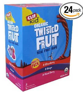 organic twisted fruit deal AAA: Clif Organic Twisted Fruit Snacks $13.59 shipped ($.57/each)