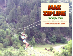 zip line deal 300x232 Need a date idea? Try a Zip Line course for $24