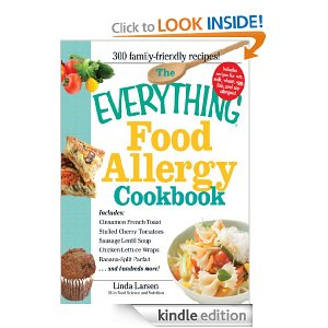 Everything Food Allergy Cookbook Free eBook:  The Everything Food Allergy Cookbook (Reg $15.95)