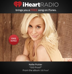 Kellie Pickler Deal 293x300 Free MP3 (iTunes) Song:  Kellie Pickler: 100 Proof