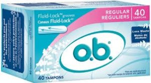 OB Sample Deal Free Sample:  OB Tampon.