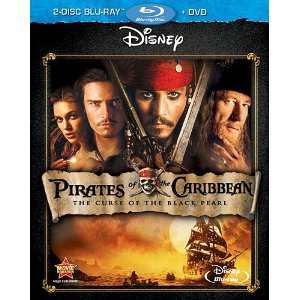 Pirates of teh Caribbean Blu ray deal AAA:  Pirates of the Caribbean: The Curse of the Black Pearl $8.96