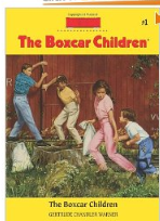 boxcar children book cover Kids Summer Reading Book ideas