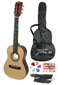 child guitar set deal 204x300 30 Childrens Acoustic Guitar w/ starter kit $24.99 shipped!