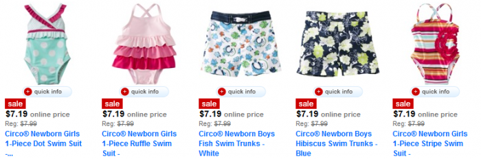 circo swimsuits deal utah target free shipping deals in utah $5.19 for Kids Swimsuits