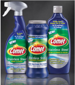 comet deal printable coupon 264x300 Comet Stainles Steel $1 coupon = $.68!