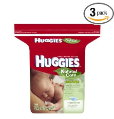 huggies natural care wipes 3 pk amazon utah deals Huggies Natural Care Wipes ($.03/wipe)