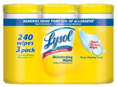 lysol wipes deal Lysol Wipes   240 for $9.47 shipped! ($0.04/wipe)
