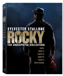 rocky on blu ray All 5 Rocky movies on Blu ray $29.99 shipped ($5.99 each!)