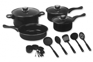 20 pc euro ware set 300x201 Houseware Essentials Sale + Free Shipping (This pan set $17.99)