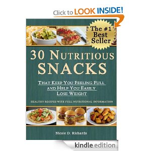 30 Nutritious Snacks Free Deal Free eBook:  30 Nutritious Snacks