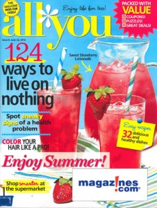 All You MAgazine Deal 226x300 $5 All You Magazine subscription