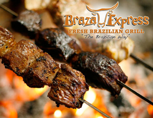 Braza Express 3 $10 Gift Certificates to Braza Express Brazilian Grill for $15 (Provo)