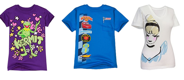Disney Tees Donalds Daily Deal: $5.99 for Kids Tees and $8.99 for Adult Tees!