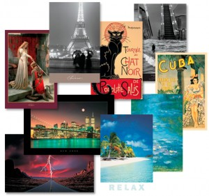 Fine Art 1SaleADay 300x281 Hurry! 51 x 34 Classic Art Prints   9 to Choose From! $9.98 Shipped!