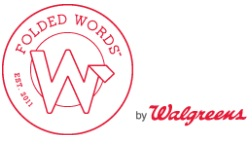 Folded Words by Walgreens Introducing Folded Words by Walgreens and 50% Off Code!