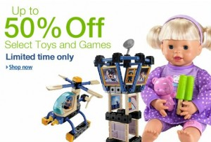 amazon toy sale 300x203 Amazon: Up to 50% Off Toy Sale!
