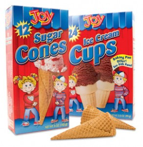 joy ice cream cones 292x300 $0.55/1 Joy Ice Cream Cone Coupons! 2 Links = $.45/box