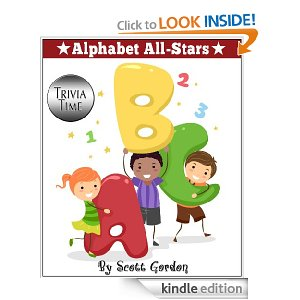 Alphabet All Stars Deal Free eBooks:  Three Childrens eBooks by Scott Gordon
