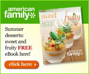 American Family FREE SUmmer Dessert Recipe Book FREE Summer Dessert Recipe Book!