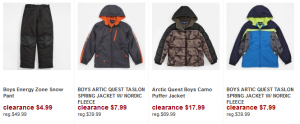 Boys outerwear 300x124 ShopKo Summer Clearance Deals!