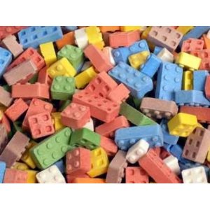 Candy Lego Blocks Lego Party Supplies and Ideas!