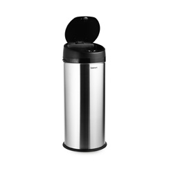 Cuisinart Sensor Trash Can HURRY! 4 Hour Sale Means $42 Sensor Stainless Steel Trash Can and $49 107 Piece Flatware Set   Till 12 pm MST!