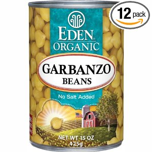 Eden Organic Garbanzo Beans Deal 12 Pack of Eden Organic Garbanzo Beans $10.77!