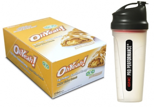 GNC protein bars and shaker cup 300x210 Box of Protein Bars and Shaker Cup for Just $6.99!