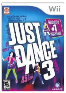 Just Dance 3 deal Just Dance 3 for Wii   $9.99 (reg $40!)