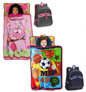 Kids Bacpack with lunchpack and nap mat value bundle 280x300 Kids Backpack with Lunchpack and Nap Mat Bundle: Only $20!