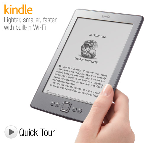Kindle Deal *Super Hot* Kindle Wi Fi w/ Special Offers $47.40 (Reg $79)