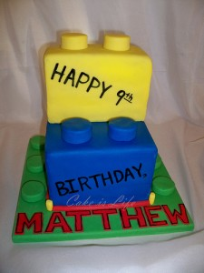 Lego Birthday Cake 2 225x300 Lego Party Supplies and Ideas!