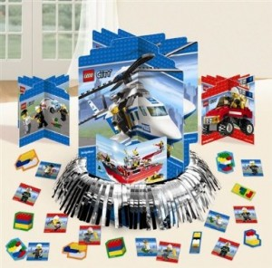 Lego City Centerpiece Party Accessory 300x296 Lego Party Supplies and Ideas!