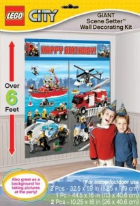 Lego City Scene Setter Party Accessory 205x300 Lego Party Supplies and Ideas!
