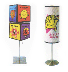 Little Miss Lamps Little Miss and Mr Men Lamps: Two Styles only $5 or $6!