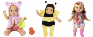 Little Mommy Dolls 300x119 20% off Little Mommy Dolls & Free Shipping at The Mattel Shop!