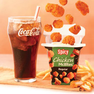 MyCokeRewards FREE McDonalds New Spicy Chicken McBites Coupon from MyCokeRewards: No Points Needed!