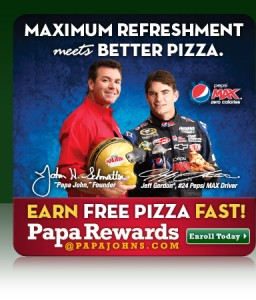 Papa Johns Earn Free Pizza 256x300 FREE Pizza from Papa Johns?!?!