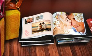 Printerpix Leatherbound Photobook 300x182 Leatherbound Photo Book for $9!