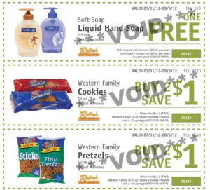 Ridleys Family Market email coupons1 300x271 Ridleys Family Market: Weekly eCoupons for July 31 to August 6 (FREE Soft Soap Liquid Hand Soap!)