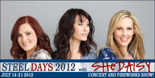 SHeDAISY Deal Tickets to SHeDAISY Live in Concert + Fireworks on July 21st for $7.50!!