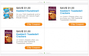 Snackpicks July Coupons 300x190 Register for Snackpicks: Get Printable Coupons...Possibly FREE Cream Cheese!