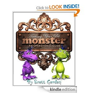 Taming Your Pet Monster Free eBooks:  Three Childrens eBooks by Scott Gordon
