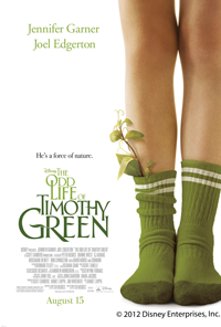 The Odd Life of Timothy Green Screaning *Hurry* Free Tickets to The Odd Life of Timothy Green on 8/2!
