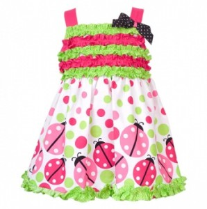 Totsy LAdy bug Ruffled Dress 298x300 Totsy: GREAT Deals Today on Girls Dresses, Swim Suits, Toddler Jegging Sets, As Seen on TV, and MORE!