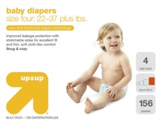 Up Up Target Diapers deal Amazon Diaper & Wipes Roundup   August 6 12