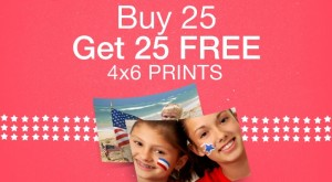 Walgreens Photo Deal Buy 25 Get 25 Free 300x165 Buy 25 4x6 Photo Prints at Walgreens, Get 25 FREE!